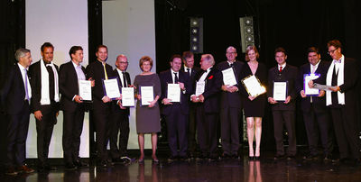 Die Gewinner des Diners Club Magazin Awards 2012