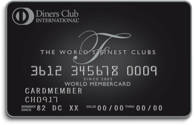 Die neue Diners Club Finest Card