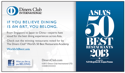 Asia's 50 Best Restaurant Awards